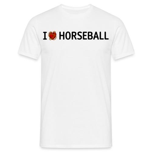 i heart hb noir - T-shirt Homme