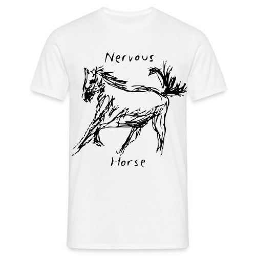 Nervous Horse - Men's T-Shirt