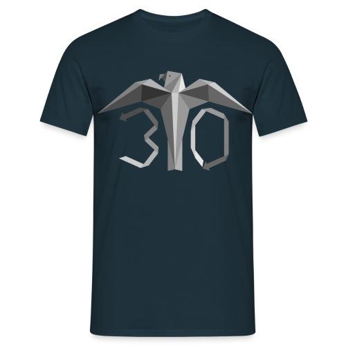Harmaa juhlavuoden logo - Miesten t-paita