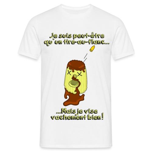tire au flanc png - T-shirt Homme