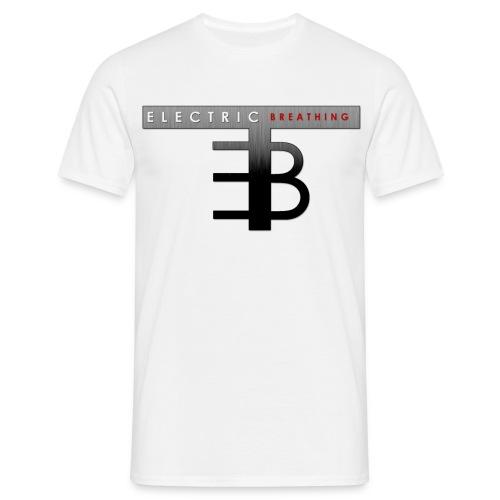 electric breathing logo - Männer T-Shirt