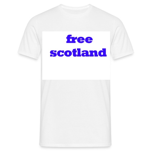 free scotland - Men's T-Shirt