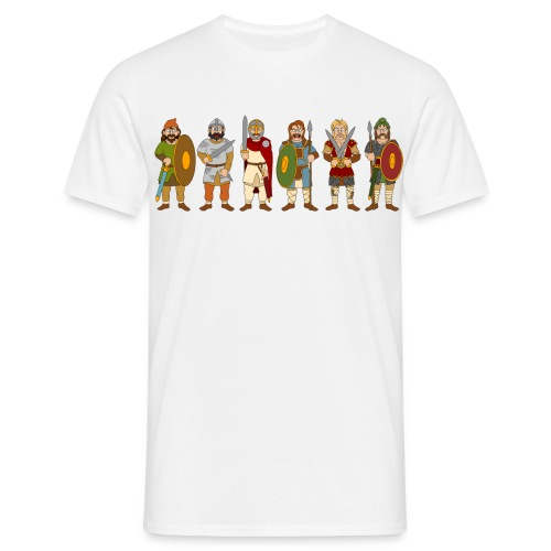 Late Anglo-Saxon Warriors - Men's T-Shirt