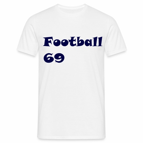 Fußball Football 69 outdoor T-shirt blue - Männer T-Shirt