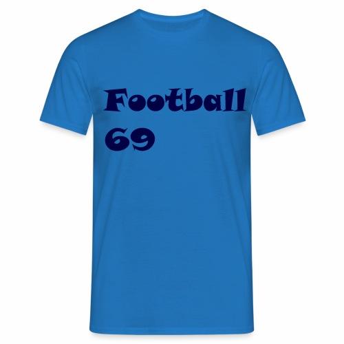 Fußball Football 69 outdoor T-shirt blue - Männer T-Shirt