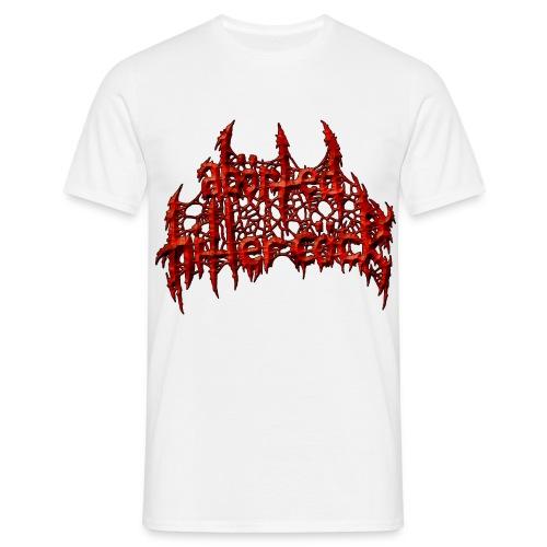 AxHxCx Logo in Haematoma Red - Men's T-Shirt