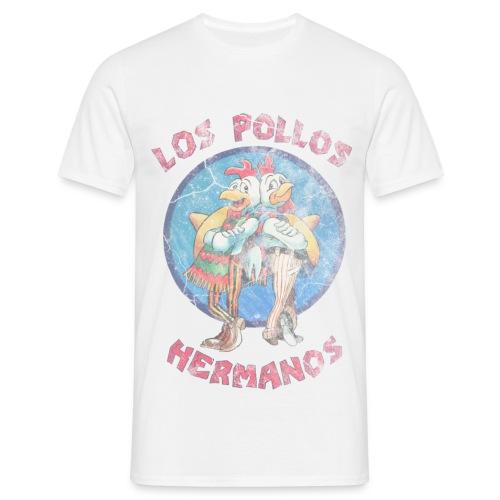 Los Pollos Hermanos Distressed - Men's T-Shirt