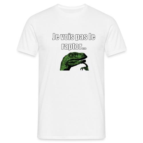 Motif_Philosoraptor - T-shirt Homme