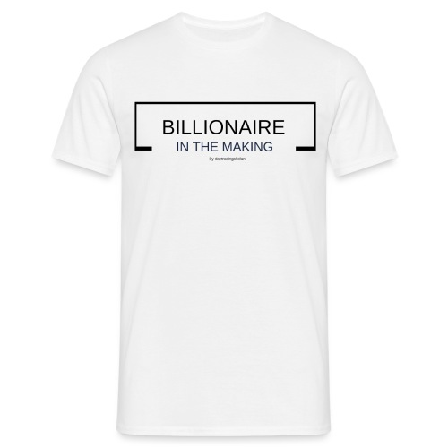 BILLIONAIREINTHEMAKING - T-shirt herr
