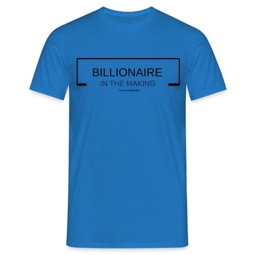 BILLIONAIREINTHEMAKING - T-shirt herr