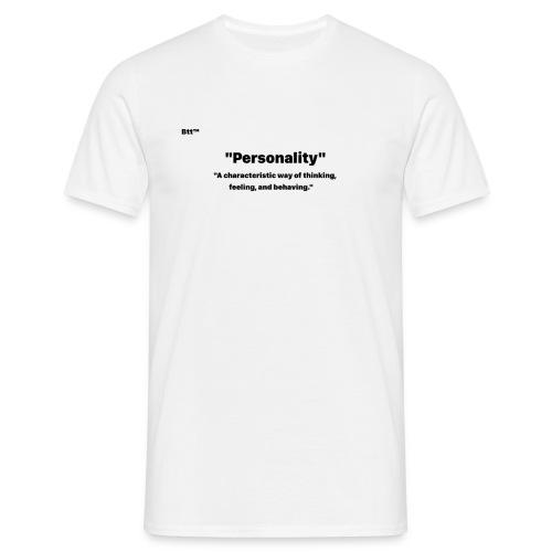 Personality - Maglietta da uomo