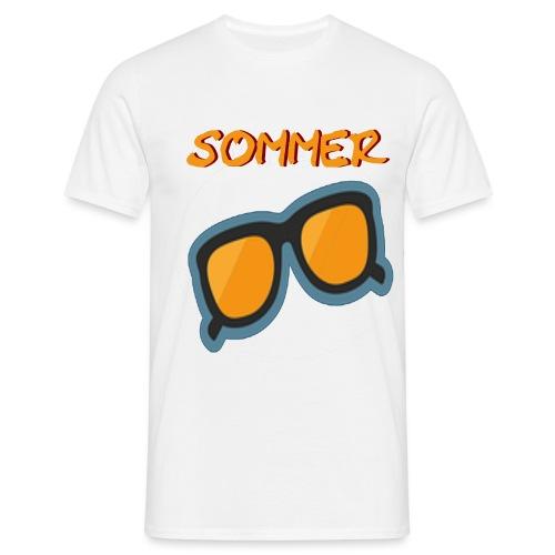 Sommer Sonnenbrille - Männer T-Shirt
