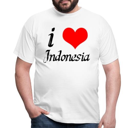 iloveindonesia png - Mannen T-shirt