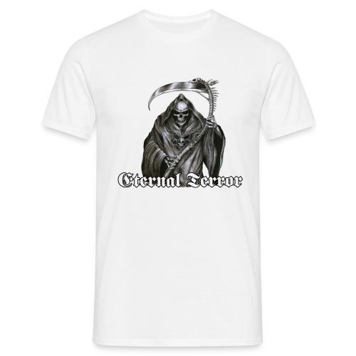 ET logo 13 reaper png - T-skjorte for menn