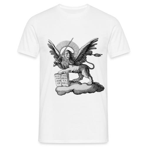 liondebaseBW png - T-shirt Homme