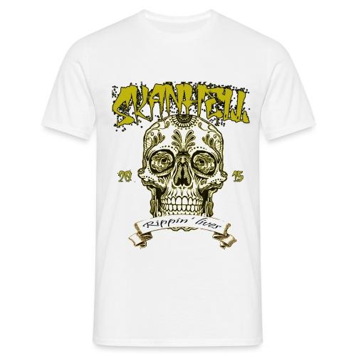Skanhell Mexican Skull - Maglietta da uomo