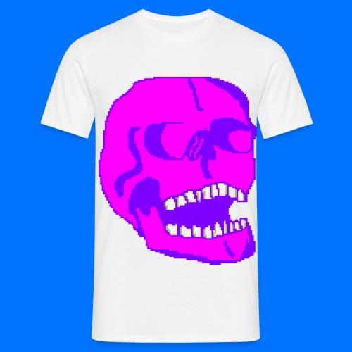 Pink Skull - Men's T-Shirt