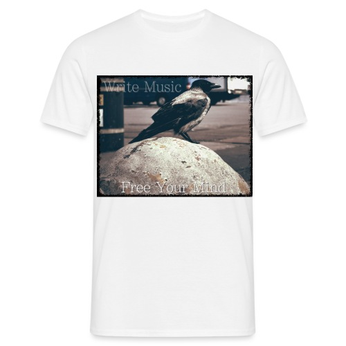 Free Your Mind Bird - Men's T-Shirt