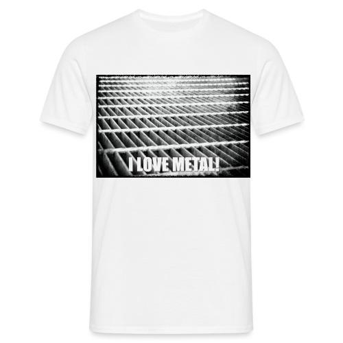 I Love Metal! - Men's T-Shirt