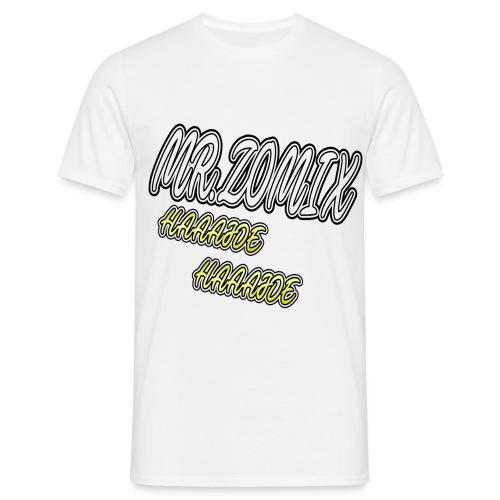 HAAAJDE Mr. Zomix - Männer T-Shirt