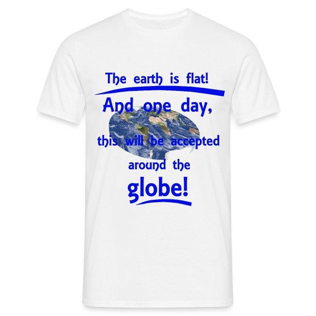 """T-Shirt """"Flat earth"""" für Männer"""