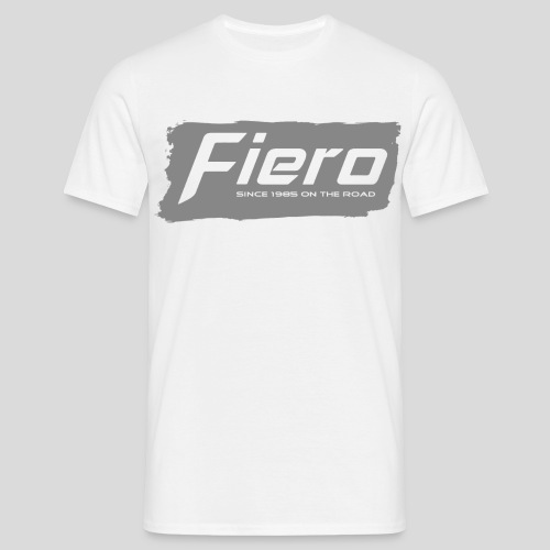 Fiero + Since 1985 on the - Männer T-Shirt