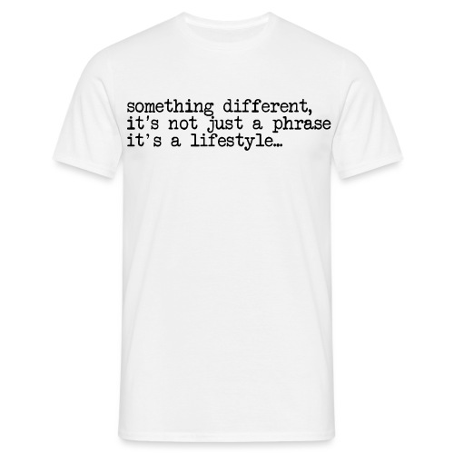 typewriter - Men's T-Shirt