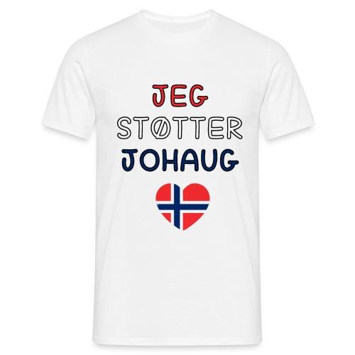 johaug - T-skjorte for menn