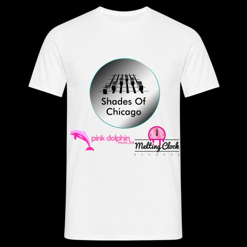 Shades Of Chicago logo - Men's T-Shirt
