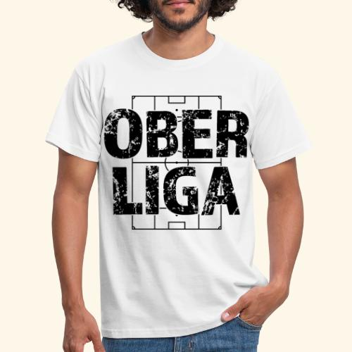 OBERLIGA im Fußballfeld - Männer T-Shirt