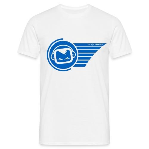merch2 blue - Men's T-Shirt