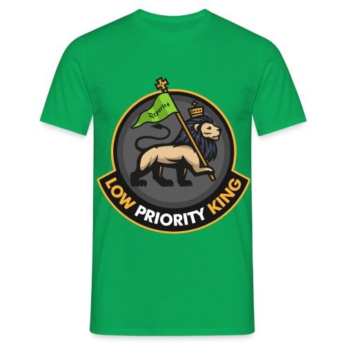 Low Priority King - Men's T-Shirt