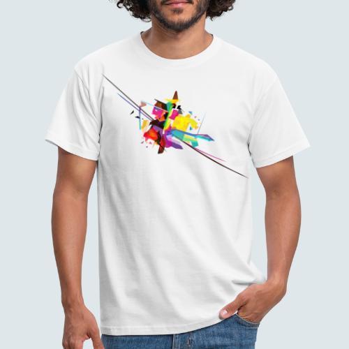 Farbenquadrat - Männer T-Shirt