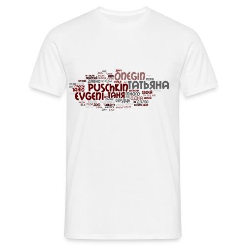 Puschkin - Männer T-Shirt