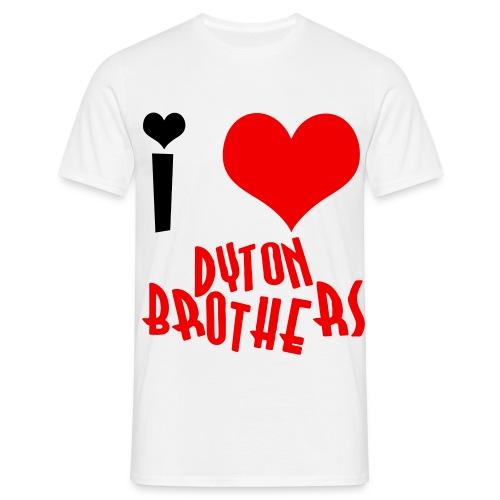 i love db - Men's T-Shirt