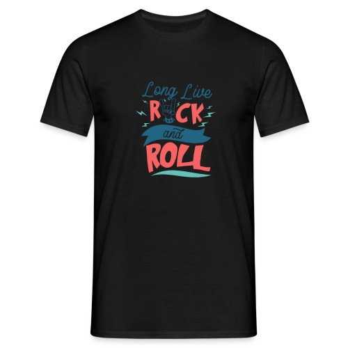 Long Live Rock & Roll - Men's T-Shirt