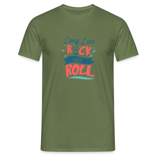 Long Live Rock & Roll - Men's T-Shirt