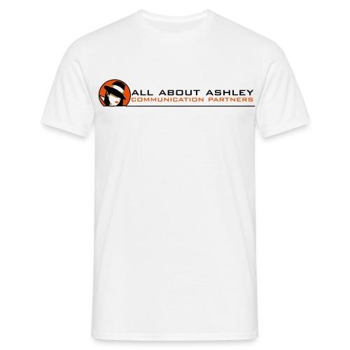 ashley logo - Männer T-Shirt