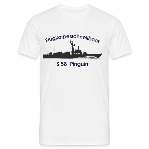 S58 Pinguin - Männer T-Shirt