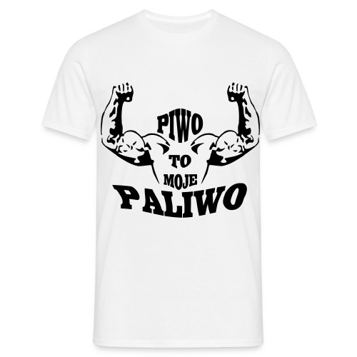 piwo to moje paliwoai - Men's T-Shirt