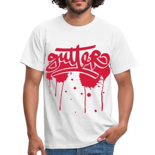 SPLATTER - Mannen T-shirt