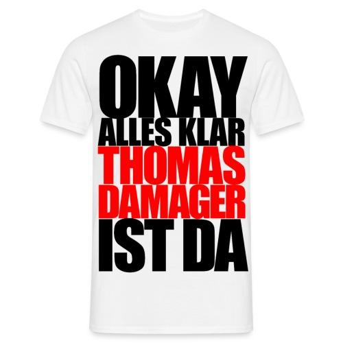 okayallesklar black - Männer T-Shirt