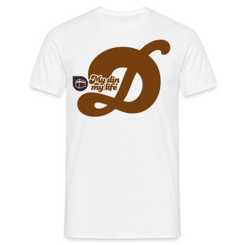 mydinmylife marron - Men's T-Shirt