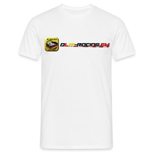 DLM-Racing-eu Logo+URL - Männer T-Shirt
