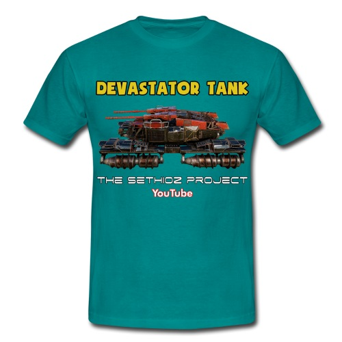 Devastator Tank by Sethioz - Men's T-Shirt