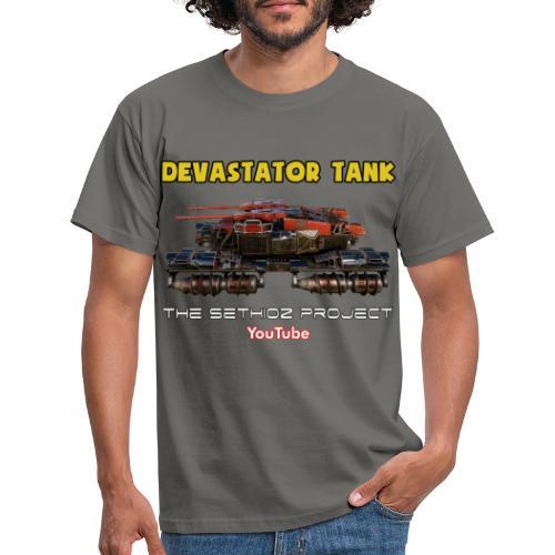 Devastator Tank by Sethioz - Men's T-Shirt