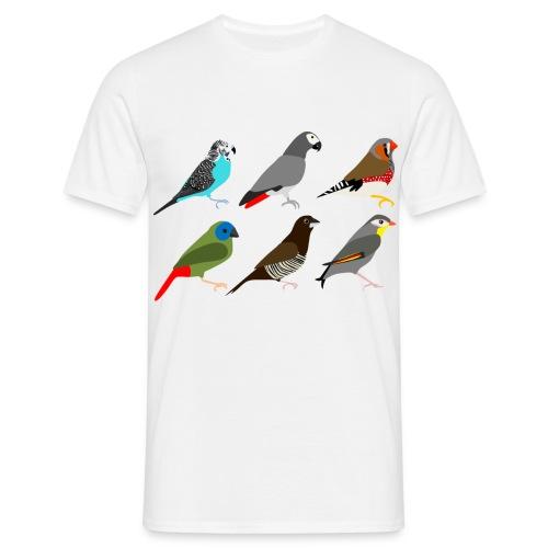 6xvogel - Mannen T-shirt