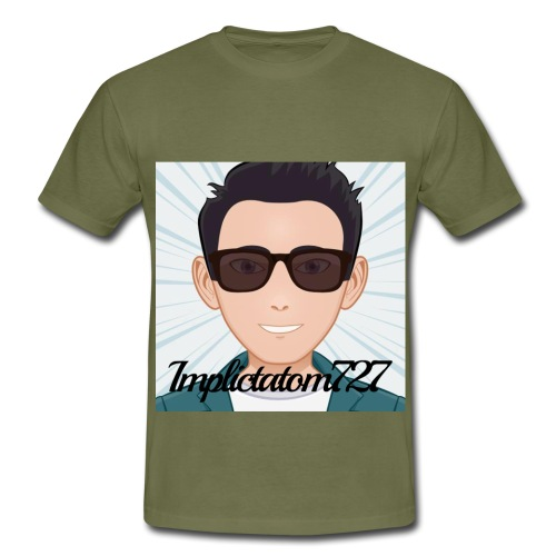 Implictatom727 Official Iconic Profile Pic. - Men's T-Shirt