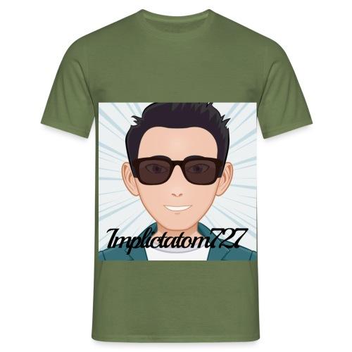 Implictatom727 Official Iconic Profile Pic. - Men's T-Shirt