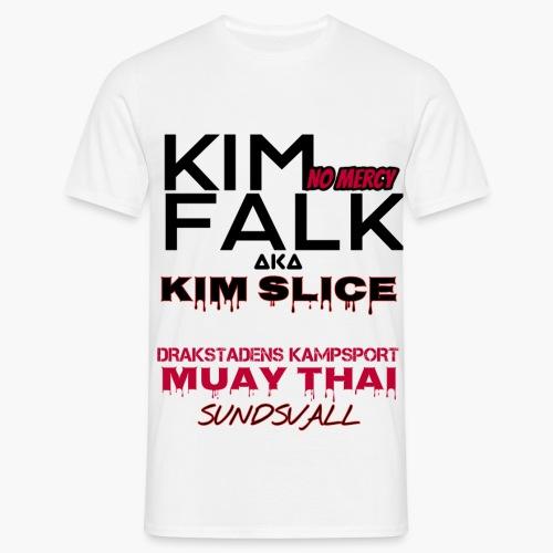 KIM FALK - T-shirt herr